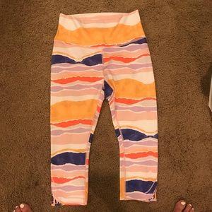 Lululemon fun workout pants